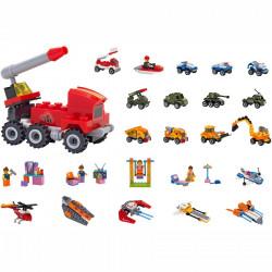 Globo Set Ndertimi Mini Automjete