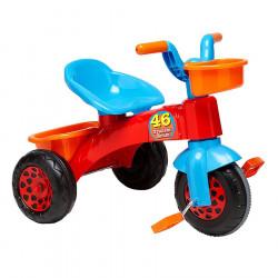 Globo Tricikel me Pedale dhe Kosh