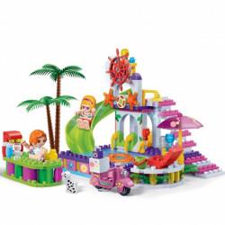 """BanBao Set Ndertimi """"Trendy Beach"""" Pishinë plazhi"""