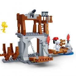 "BanBao Set Ndertimi ""Peanuts"" Piratet"