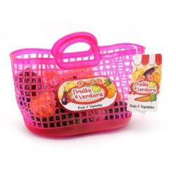 Globo Cante Plastike me Fruta dhe Perime