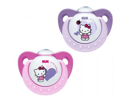 Biberon Fallco Silikon 6-18M Hello Kitty