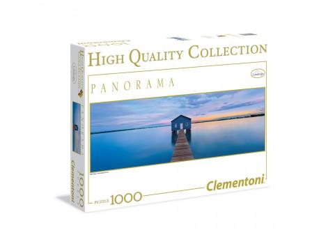 Clementoni Puzzle 1000 Panorama Blue Calm