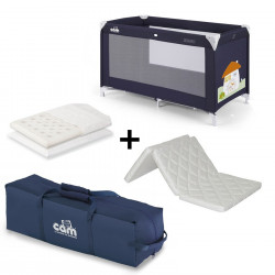 Cam Krevat Portativ Sonno + Lorelli Jastek Air dhe Dyshek qe Paloset Air Comfort