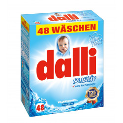 Dalli Sensitiv Detergjent Lares Pluhur 3,36 Kg