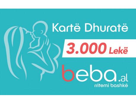 Gift CARD - 3000 Leke