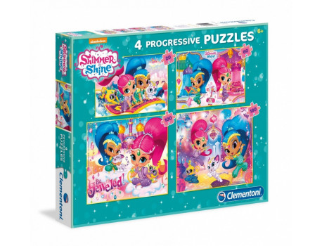 Puzzle Shimmer 4 Progressive Puzzle Clementoni