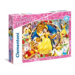 Clementoni Puzzle E Bukura Dhe Bisha 60 Pjese