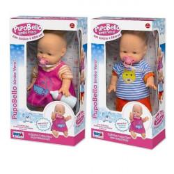 Pupobello Kukull Bebe me Biberon