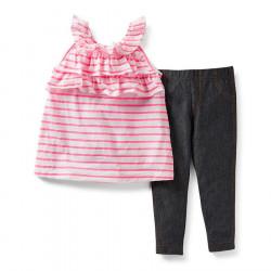 Carter's Set Bluze dhe Strece per Vajza 219A363