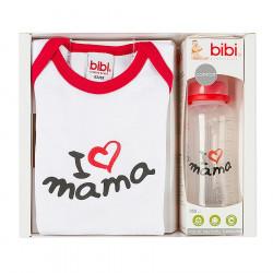 Set Shishe 250 ml + Badi I love Mama