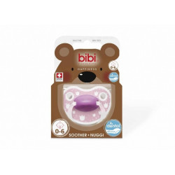Bibi Biberon Fallco Silikon 0-6 m Lovely Dots