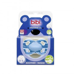 Bibi Biberon Fallco 0-6 m Silikon Wild Baby