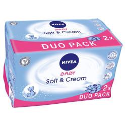 Nivea Baby Soft & Cream Letra te Lagura 2x 63 Cope