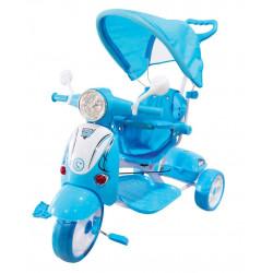 Aziamor Tricikel Vespa, Blue
