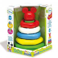 Clementoni Loder Mickey Stacking Rings Disney Baby